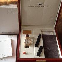 IWC Red gold Automatic 41,5mm pre-owned Da Vinci Perpetual Calendar