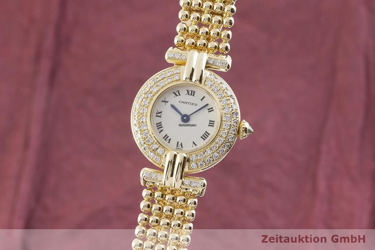 38a32792f64b7 Prix de montres Cartier femme | Acheter et comparer une montre de Cartier  femme sur Chrono24
