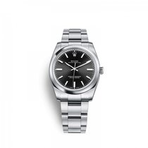 Rolex Oyster Perpetual 34 Acero 34mm Negro
