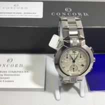 Concord La Scala new 2000 Quartz Chronograph Watch with original box and original papers 14.C5.1891 S