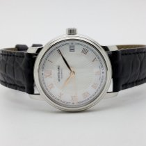 Montblanc Tradition Steel 32mm Mother of pearl Roman numerals
