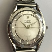 Universal Genève Steel 35mm Automatic pre-owned Canada, Calgary