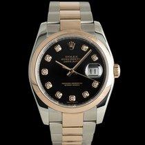 Rolex Datejust 116201 Muy bueno Acero y oro 36mm Automático