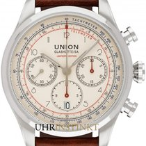 Union Glashütte Belisar Chronograph Steel 44mm Champagne