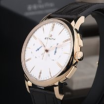 Zenith Elite Chronograph Classic Rose gold 42mm Silver