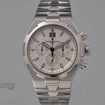 Vacheron Constantin Stahl Automatik Silber 42mm gebraucht Overseas Chronograph
