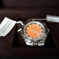 Philip Watch Caribe Steel 45mm Orange No numerals