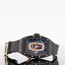 Richard Mille RM 037 Rose gold 52.6mm Transparent No numerals