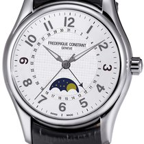 Frederique Constant Runabout Moonphase Steel Silver United States of America, New York, Brooklyn
