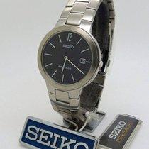 Seiko new Quartz 36mm Steel Mineral Glass