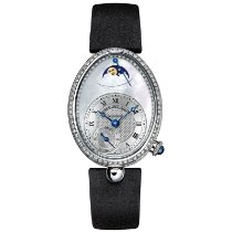 Breguet Reine de Naples White gold 28.5mm Mother of pearl Roman numerals United States of America, New York, NEW YORK