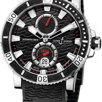 Ulysse Nardin Maxi Marine Diver new 2018 Automatic Watch with original box and original papers 263-90-3C/72