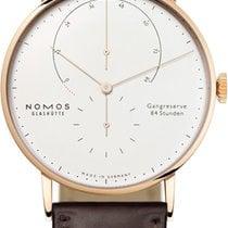 NOMOS Rose gold 42mm Manual winding Lambda new