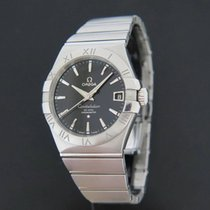 Omega Constellation Men Staal 38mm Zwart Nederland, Maastricht