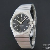 Omega Constellation Men Ατσάλι 38mm Μαύρο
