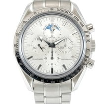 Omega Speedmaster Professional Moonwatch Moonphase Staal 42mm Zilver