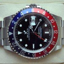 Rolex [SERVICED+24 MON.+MINT] GMT Master II - P -PEPSI- 2001