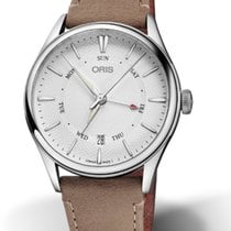 Oris Artelier Pointer Day Date Steel 40 mmmm Silver United States of America, Georgia