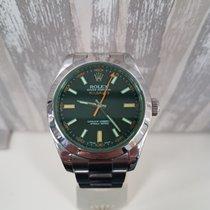 Rolex 40mm Remontage automatique 2009 occasion Milgauss Noir