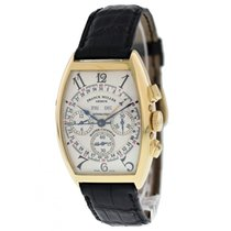 Franck Muller Yellow gold 33mm Automatic 6850CCMC pre-owned United States of America, New York, New York