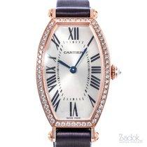 Cartier Tonneau usados 32mm Oro rosado