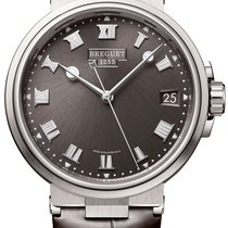 Breguet Titanium Automatic Grey 40mm new Marine