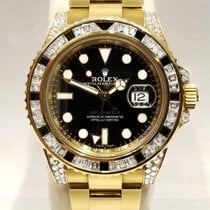 Rolex 116758SANR Or jaune GMT-Master II 40mm occasion