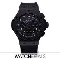 Hublot Big Bang 44 mm Carbon 44mm Black No numerals