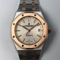 Audemars Piguet Gold/Steel 37mm Automatic 15450SR.OO.1256SR.01 pre-owned Malaysia, Kuala Lumpur