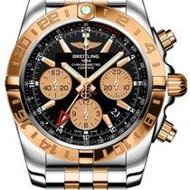 Breitling Chronomat 44 GMT neu 2019 Automatik Uhr mit Original-Box und Original-Papieren CB042012/BB86-375C