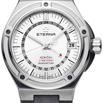Eterna Royal Kontiki Steel 42,00mm Silver Arabic numerals