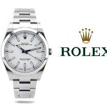 Rolex Oyster Perpetual 39 Acier 39mm Argent Sans chiffres Belgique, Antwerpen