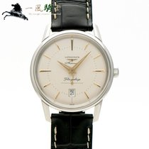 Longines Flagship Heritage Steel 39mm Silver United States of America, California, Los Angeles