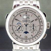 A. Lange & Söhne Datograph Platinum 41mm Silver Roman numerals United States of America, Massachusetts, Boston
