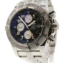 Breitling Super Avenger Steel 45mm Blue Arabic numerals United States of America, California, West Hollywood