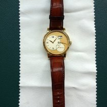 A. Lange & Söhne Yellow gold Manual winding Champagne Roman numerals 41.9mm pre-owned Grand Lange 1