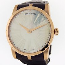 Roger Dubuis Excalibur Rose gold 42mm Mother of pearl Roman numerals United States of America, New York, Greenvale