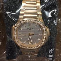 Patek Philippe Nautilus Lady Rose Gold Silver Dial 7118/1200R