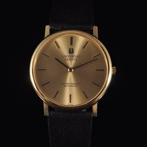 Universal Genève pre-owned Automatic 34mm Gold Plexiglass