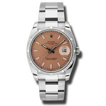 Rolex Oyster Perpetual Date Acél 34mm Pink