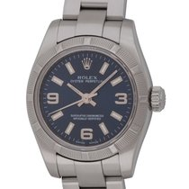 Rolex : Ladies Oyster Perpetual :  176210 :  Stainless Steel :...