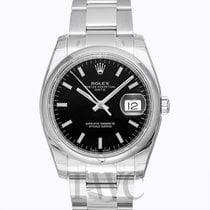 Rolex Oyster Perpetual Date Black/Steel Ø34 mm - 115200
