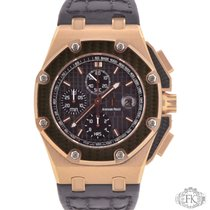 Audemars Piguet Royal Oak Offshore Chronograph Rose gold 45mm Black No numerals
