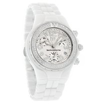 Technomarine Ladies Moonsun Ceramic Diamond Chronograph Watch...