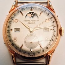 Record Watch & Co  Geneve DatoFix Triple Date Moon Phase...