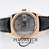 Rolex Day-Date 36 nuovo Automatico Orologio con scatola e documenti originali 118135