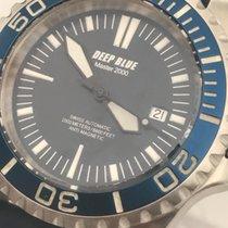 Deep Blue Master 2000 Swiss ETA Movement 2000m Limited Edition...