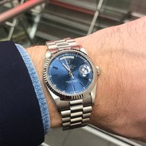 Rolex Day-Date 18239 blue dial
