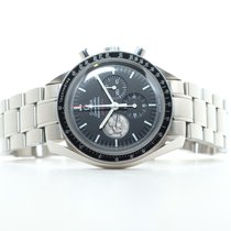 欧米茄 Speedmaster Professional Moonwatch 钢 42mm 黑色 无数字