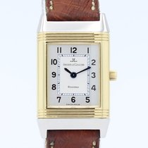 Jaeger-LeCoultre Reverso (submodel) Gold/Steel 19mm Grey Arabic numerals